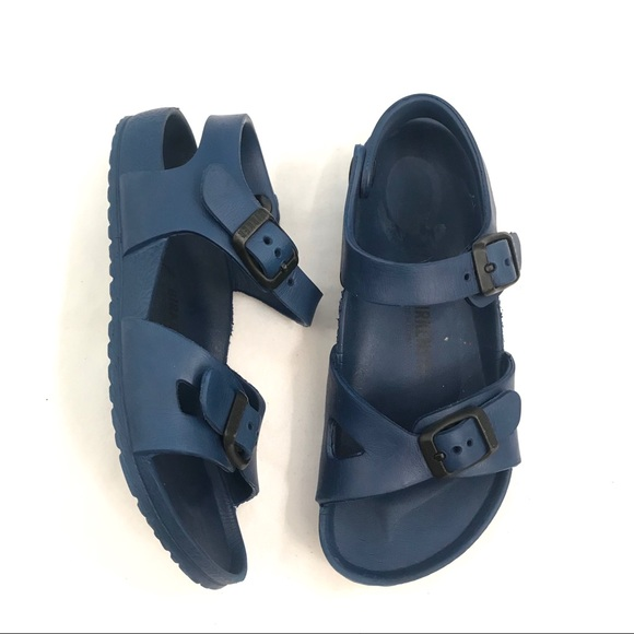 a89752fd0e37 Birkenstock Other - Birkenstock Rio Kids Navy Sandals